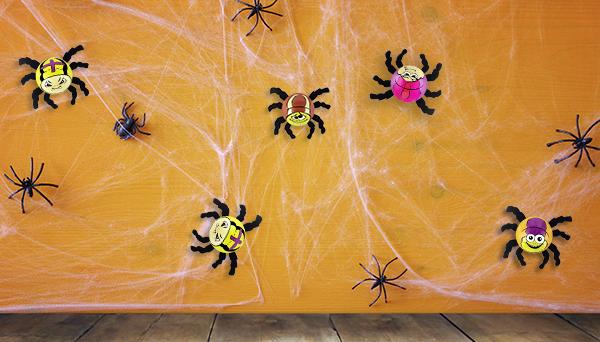 Spinnweben Deko Riegelein Confiserie